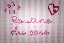 routine soir